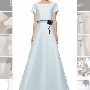 Carolina Herrera A-Line Gown T-Shirt overlay